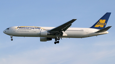 ZS-PBI - Boeing 767-3Y0(ER) - Nationwide Airlines