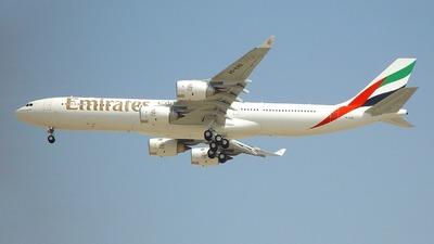 A6-ERB - Airbus A340-541 - Emirates
