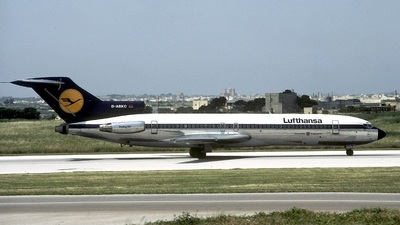 D-ABKC - Boeing 727-230(Adv) - Lufthansa