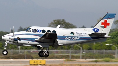 A picture of N117MF - Beech C90 King Air - [LJ779] - © Michael J. Carter