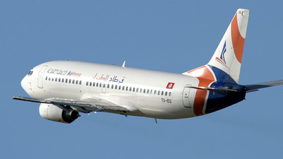 TS-IEG - Boeing 737-31S - Karthago Airlines