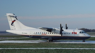 PH-RAQ - ATR 42-320 - Trans Travel Airlines (TTA)