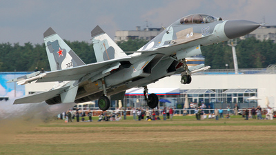 122 - Sukhoi Su-30MK - Russia - Air Force