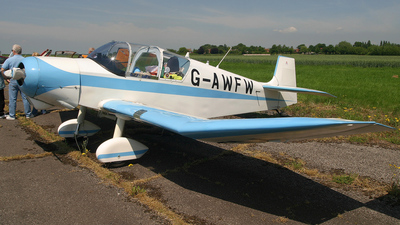 A picture of GAWFW - Jodel D117 - [599] - © S. Thomas