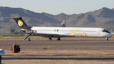 N418GE - McDonnell Douglas MD-82 - Southeast Airlines