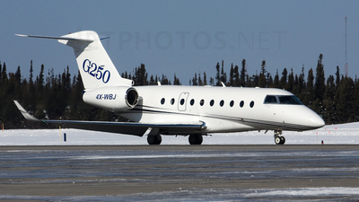4X-WBJ - Gulfstream G250 - Israel Aerospace Industries (IAI)