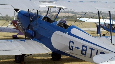 G-BTIG - D.H. Tiger Moth - Private