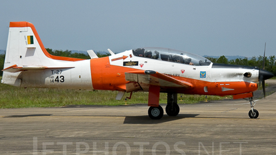 FAB1443 - Embraer EMB-312 Tucano - Brazil - Air Force