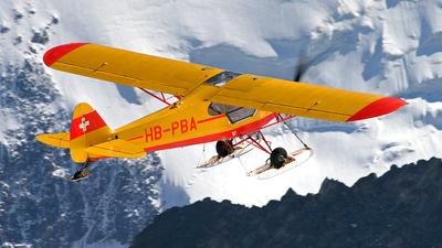 HB-PBA - Piper PA-18-150 Super Cub - Private