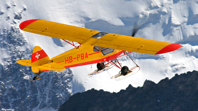 A picture of HBPBA - Piper PA18150 Super Cub - [184922] - © YU Ming