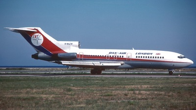 G-BAJW - Boeing 727-46 - Dan-Air London
