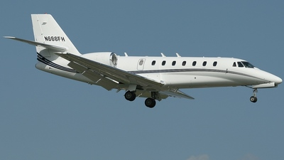 N666FH - Cessna 680 Citation Sovereign - Private