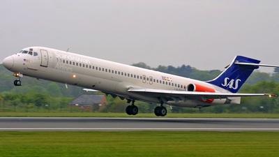 LN-RMK - McDonnell Douglas MD-87 - Scandinavian Airlines (SAS)