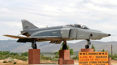 64-1022 - McDonnell Douglas RF-4C Phantom II - United States - US Air Force (USAF)
