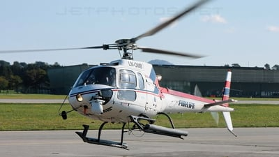 LN-OMB - Eurocopter AS 350B2 Ecureuil - Airlift