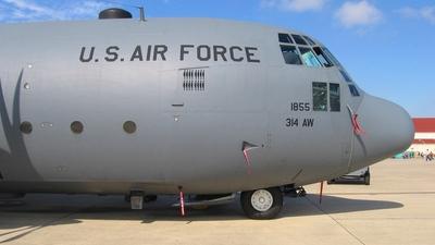 62-1855 - Lockheed C-130E Hercules - United States - US Air Force (USAF)