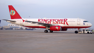 VT-KFF - Airbus A320-232 - Kingfisher Airlines