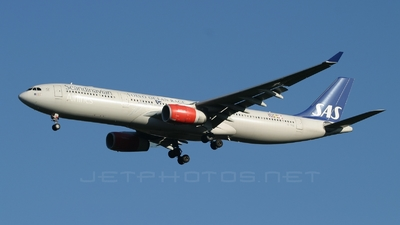 SE-REE - Airbus A330-343 - Scandinavian Airlines (SAS)