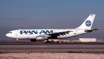 N216PA - Airbus A300B4-203 - Pan Am