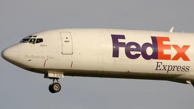 N278FE - Boeing 727-233(Adv)(F) - FedEx