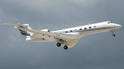 N196GA - Gulfstream G550 - Private