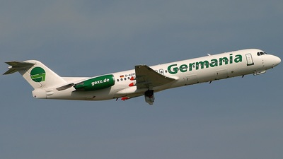 D-AGPH - Fokker 100 - Germania