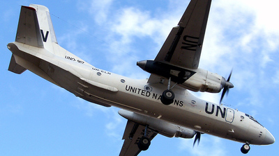 UR-ELR - Antonov An-26-100 - United Nations (Air Urga)