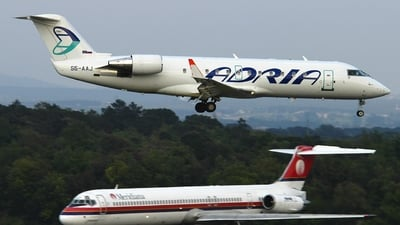 S5-AAJ - Bombardier CRJ-200LR - Adria Airways