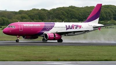 HA-LPF - Airbus A320-233 - Wizz Air