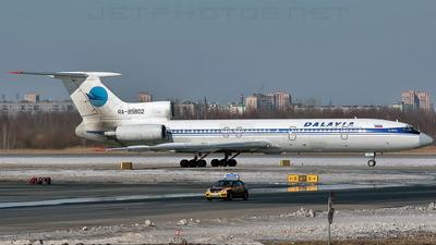 RA-85802 - Tupolev Tu-154M - Dalavia - Far East Airways