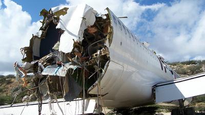 PJ-SEF - McDonnell Douglas MD-82 - Dutch Caribbean Airlines (DCA)