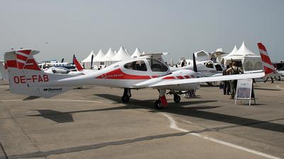 OE-FAB - Diamond DA-42 Twin Star - Diamond Airborne Sensing