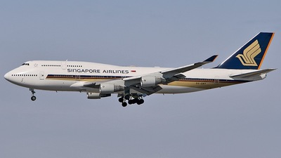 9V-SMY - Boeing 747-412 - Singapore Airlines