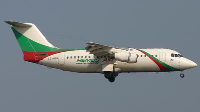 LZ-HBA - British Aerospace BAe 146-200 - Hemus Air