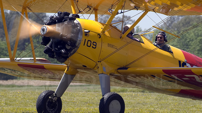 LV-ZKU - Boeing N2S-5 Stearman - Private