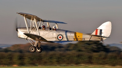 A picture of GANJA - De Havilland DH82 Tiger Moth - [82459] - © Brian Whitelegg