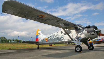 FAC5115 - De Havilland Canada DHC-2 Mk.I Beaver - Colombia - Air Force