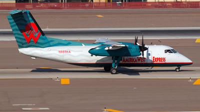 N988HA - Bombardier Dash 8-Q202 - America West Express (Mesa Airlines)