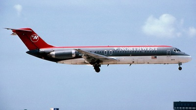 N619NW - McDonnell Douglas DC-9-32 - Northwest Airlines