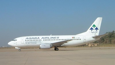 JY-JAB - Boeing 737-33A - Aqaba Airlines