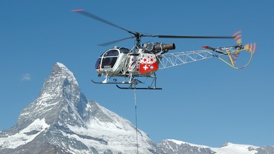 HB-XND - Aérospatiale SA 315B Lama - Air Zermatt