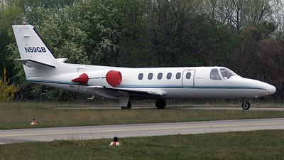 N59GB - Cessna 551 Citation II(SP) - Private