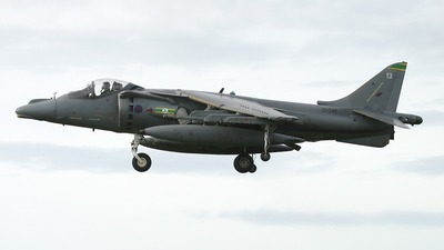 ZA346 - British Aerospace Harrier GR.7 - United Kingdom - Royal Air Force (RAF)