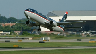 N436US - Boeing 737-4B7 - US Airways