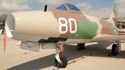 80 - Dassault MD.450 Ouragan - Israel - Air Force