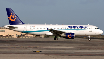 EC-INZ - Airbus A320-214 - Iberworld Airlines