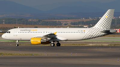 EC-JAB - Airbus A320-214 - Vueling Airlines