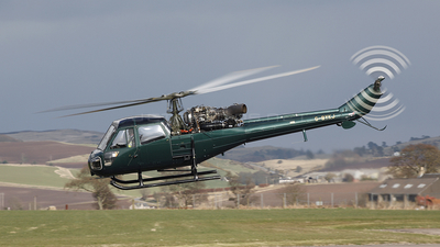 G-BYKJ - Westland Scout AH.1 - Private