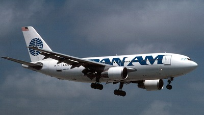 N807PA - Airbus A310-222 - Pan Am
