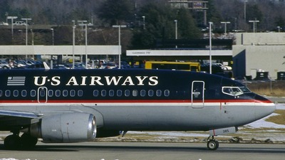 N385US - Boeing 737-3B7 - US Airways